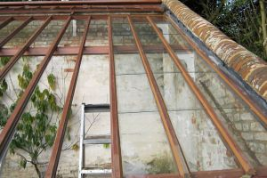 Roof to orangery, Highclere Castle.